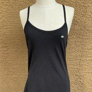 LACOSTE Black Sundress Size 38